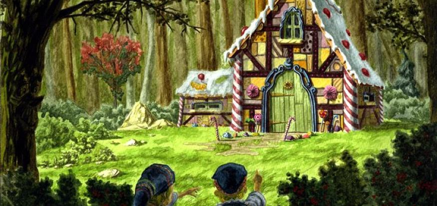 Hansel and Gretel candy house